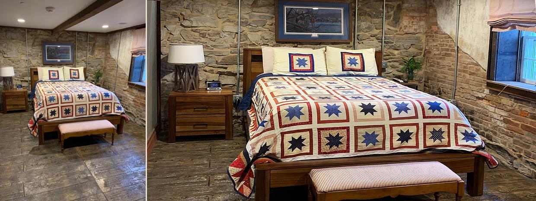 Soldier's Retreat bed
