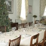 Elmwood Farm Christmas dining room