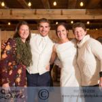 innkeepers with bride and groom