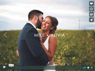 Mike + Alivia's Wedding Highlight Film